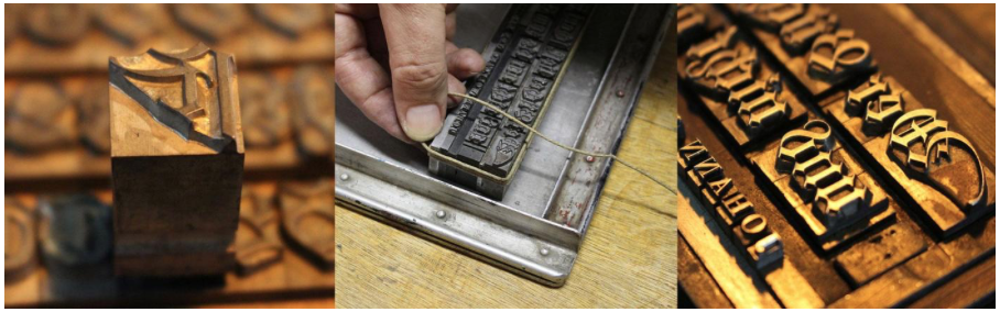 Reviving a blackletter font from a museum's archive