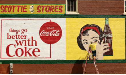'Ghost Signs Reborn': Restored Coca-Cola Murals Refresh Southern Downtowns