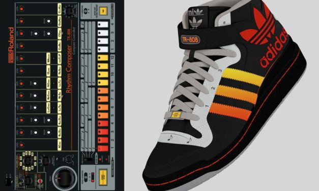 THESE ROLAND TR-808 ADIDAS ARE FULLY FUNCTIONAL