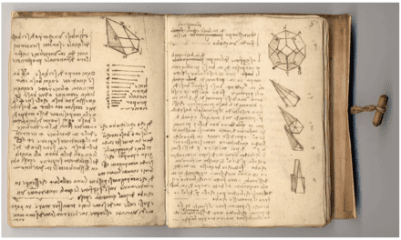 Recently Digitized Journals Grant Visitors Access to Leonardo da Vinci's Detailed Engineering Schematics and Musings