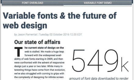 Variable Fonts & the Future Of Web Design