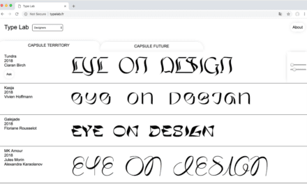 Want a Rad New Experimental Typeface? We Got You