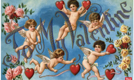 History of St. Valentine's Day in the 1800s