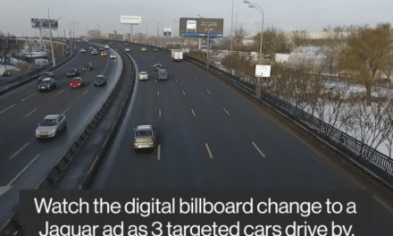Moscow Billboard Targets Ads Based on the Car You're Driving