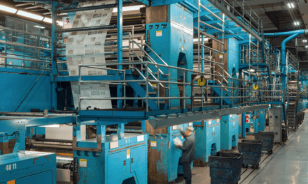 The Daily Miracle: Finding Magic Inside The Times's Printing Plant
