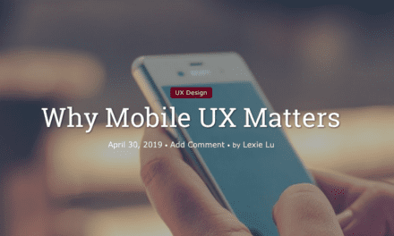 Why Mobile UX Matters
