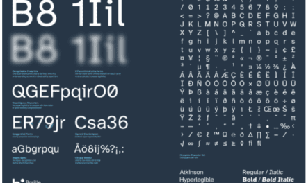 This typeface hides a secret in plain sight. And that's the point