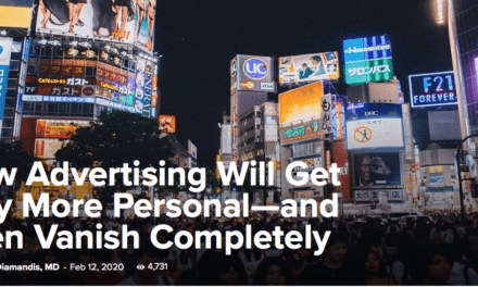 How Advertising Will Get Way More Personal—and Then Vanish Completely