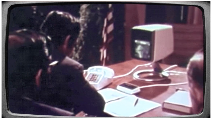Watch the first videoconference, which took place 50 years ago today