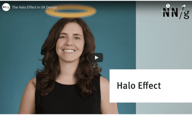 The Halo Effect in UX Design