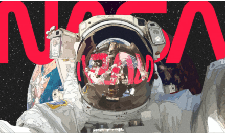 NASA's 'worm' logo lay dormant for 28 years. So why are people so obsessed with it?