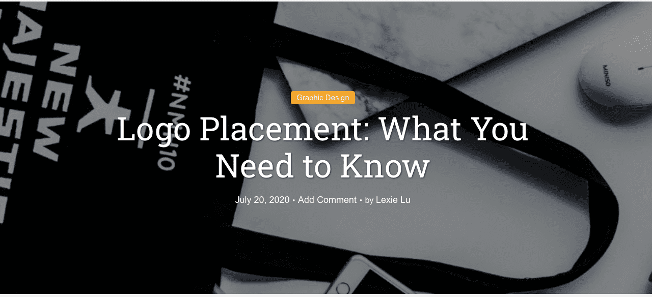 Logo Placement: What You Need to Know