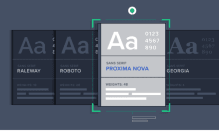 Tips when choosing a typeface (with infographic)