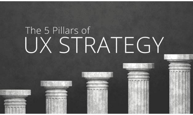 The 5 pillars of UX strategy