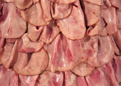 2009 reprocessed Meat Dress by Amy Karle detail websize