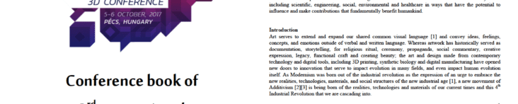 Art of the 4th Industrial Revolution and its Contributions to Humankind
