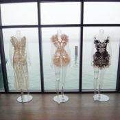 Clothing Laser Cut by Amy Karle, Artist in Residence at Autodesk: You can now turn your drawings into real clothing.