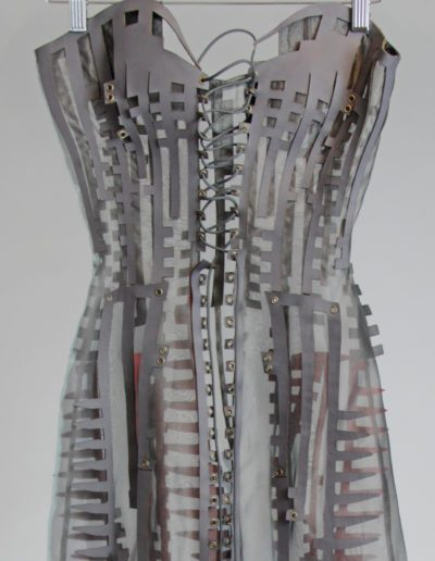 Pepakura Haute Couture Gown by Amy Karle, 2016 Pattern Collaboration with Michael Koehle