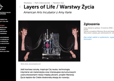 Layers of Life Worshop in Polish