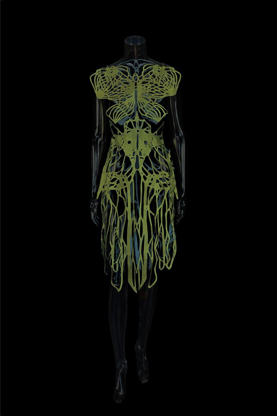 2017-Amy-Karle-Internal-Collection-green-silk-dress-based-on-ligaments-and-tendons04