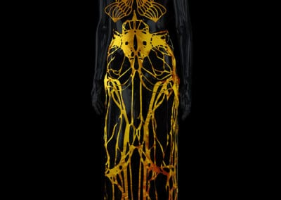 2017-Amy-Karle-Internal-Collection-yellow-silk-dress-based-on-ligaments-07