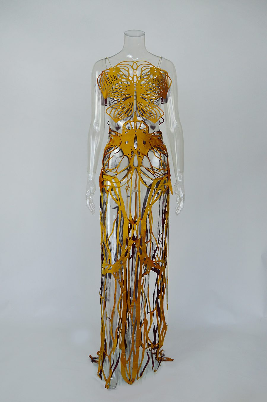 2017-Amy-Karle-Internal-Collection-yellow-silk-dress-based-on-ligaments-08