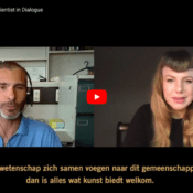 DIALING IN: AMY KARLE AND ROBERTO NARCISI (UN)REAL: Artist and Scientist in Dialogue (Video)